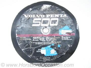 Couvercle Volvo Penta 500 V8